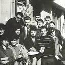 1966 - Cu colegii de an I la defilarea de 1 Mai
