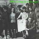 1967 - ND cu colegii grupei de limba germana an III